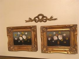 Pair of small paintings