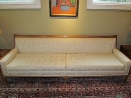 Mid-century sofa by Tomlinson-part of the Sophisticates group. 8' long