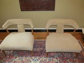 "Pair of Tomlinson ""Sophisticate Group"" chairs"