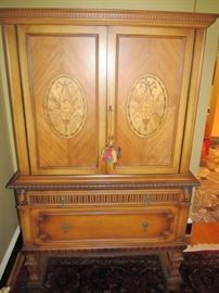 Armoire/cabinet with matching dining table, buffet and sideboard