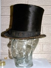 Antique Gentleman's Top Hat