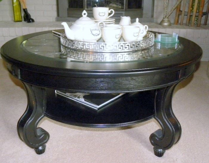Ebony Stained Cocktail table