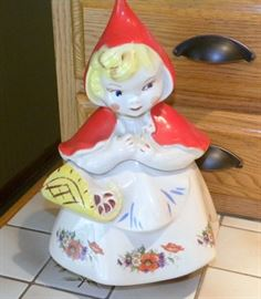 Regal China Little Red Riding Hood Cookie Jar