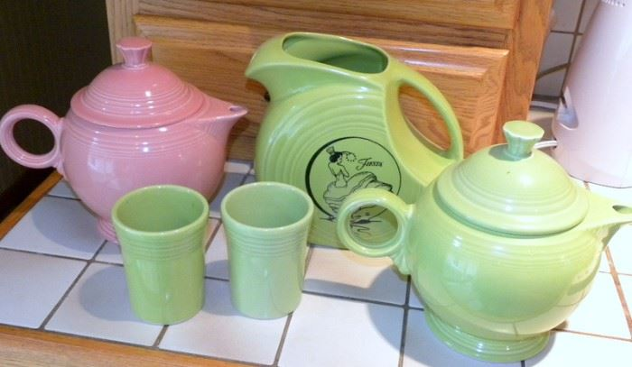Fiestaware Pieces