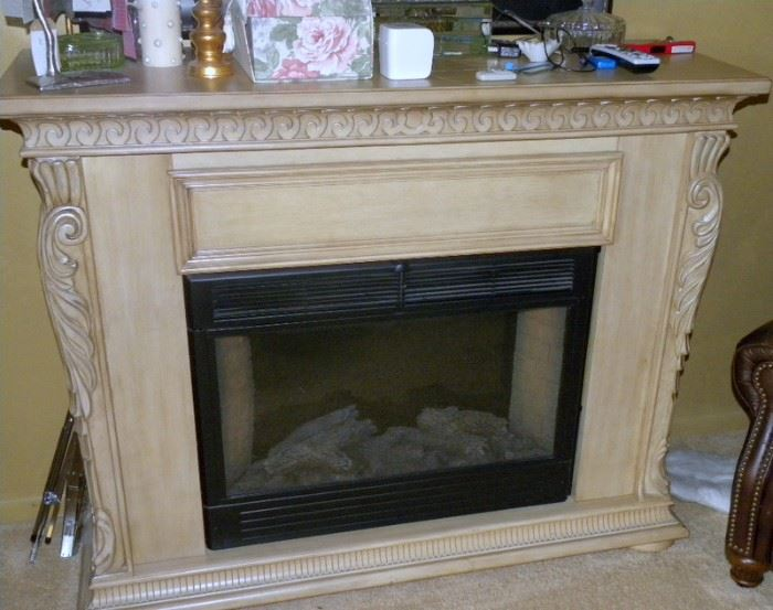 Electric Free Standing Fireplace