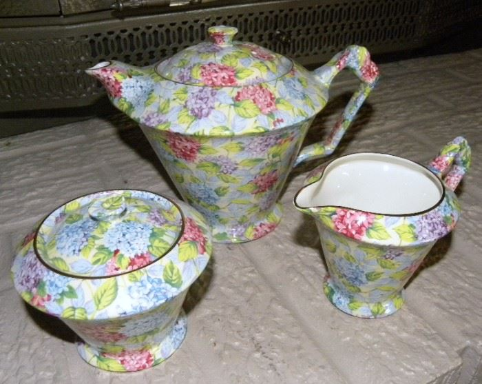 Chintz Tea Set
