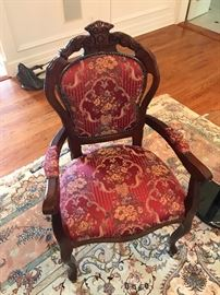 two of these chairs