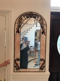 Custom Stained Glass Mirror (4)