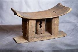 Ashanti Wood Tribal Stool