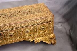 Asian Giltwood Box
