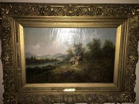 Eduard Boehm 1830 - 1890  Listed Artist Lived in France, US & Austria