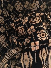 Early Coverlet with hand stitched date