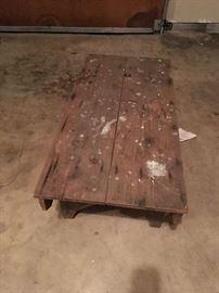Primitive low table