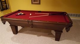 7' Pool Table AMF