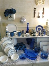 Corelle Blue Heart Dishes, Mugs, And Other Beautiful Blue Dishes To Choose From!