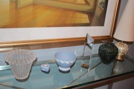 Wedgewood and other Decorative Items