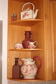 Decorative Serving Pieces and Decorative Jars