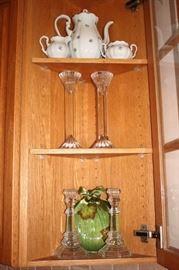 Decorative Serving Pieces & Candle Sticks