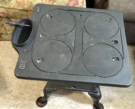 NICE ANTIQUE CAST IRON STOVE