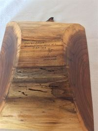 "American Walnut Tray, 9"" x 11"". Brian Shope, Huckleberry Mountain, NC."