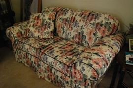 Love seat with Matching Sofa