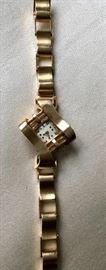Vintage 14K gold LeCoultre Watch