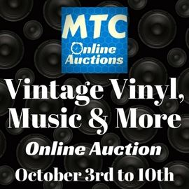 Vintage Vinyl Auction