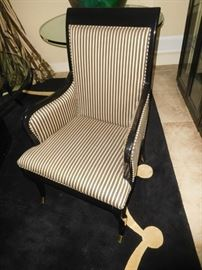 One of 8 dining chairs