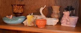 McCoy, etc. art pottery
