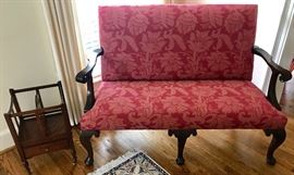 Stickley settee