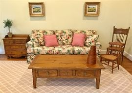 Drexel chest and coffee table