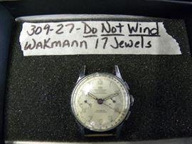 Wakmann 17 Jewel Watch