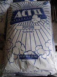 1 50 lbs. bag ACT II yellow variety popcorn