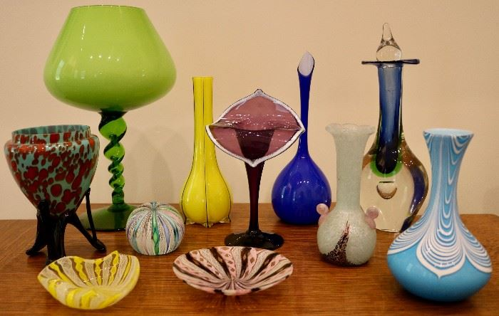 Art glass collection