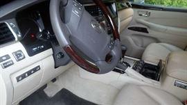 Lexus 2013 LX570 90K Miles Exterior Nebula Grey Pearl, Interior Tan. WITH LEXUS EXTRA CARE PLATINUM SERVICE WARRANTY $39,000