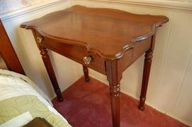 Nice Antique Walnut Side Table