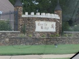 Sale is in Castle Ridge Subdivision