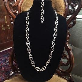 Buccellati Necklace and Bracelet