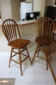 Bar chairs (SET OF FOUR)
