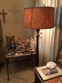 Tall Lamps / Crosses and Religious Items