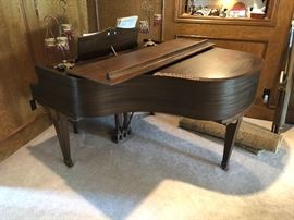 Over 100 years old Petite Grand Piano, solid Ash/Walnut.  Pre Selling this item!!
