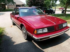 1988 Oldsmobile Delta Royale; one owner; 6 cylinder; 3.8 motor; 126,900 miles; never seen snow, clean!
