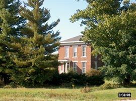 Simpson-Breedlove House. Indiana Landmarks, National Register