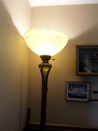 Antique Up Lamp