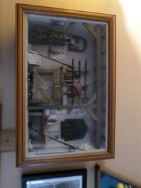 Golf Shadowbox display Case
