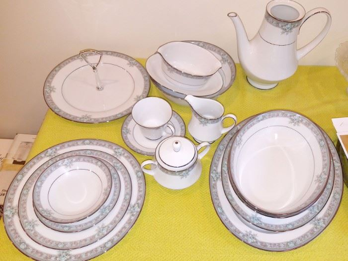 Noritake Lunceford set...see next photo for list of pieces