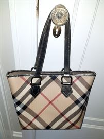 Burberry purse!