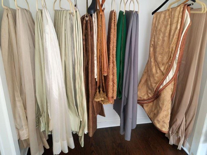 Window treatments, linens