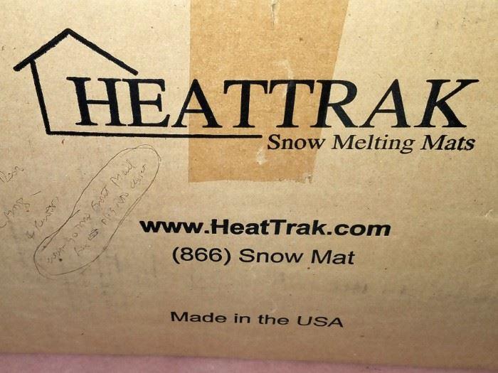 Snow melting mats