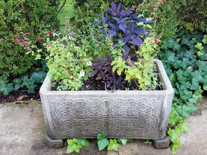 Outdoor planters